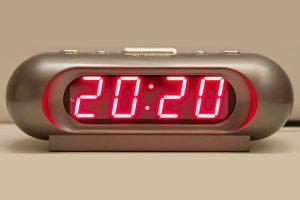 20:20 на часах