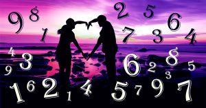 влюбленные и цифры