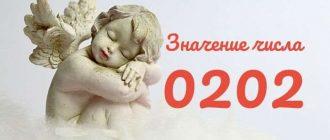 Ангельская нумерология 0202 на часах
