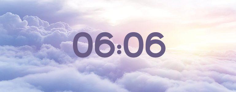 ангельская нумерология 06 06 на часах